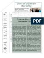 Bureau of Oral Health Newsletter - Issue 2