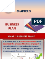 Chapter 3.Business Plan Ppt