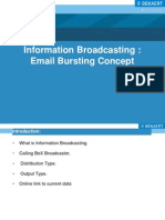 Information Broadcasting _ Email Bursting