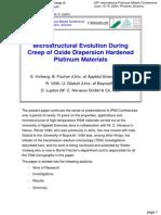 6 Microstructural Evolution