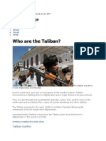 Taliban Origin