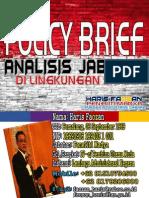 Policy Brief Analisis Jabatan (Haris Faozan 2013)