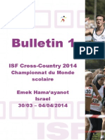 ISF Cross-Country 2014 Bulletin 1 F