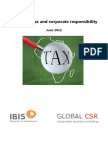 A Brief on Tax and Corporate Responsibility