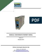 Manual Conversor Ethernet Serial(1)