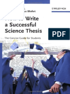 Thesis vs dissertation your science