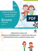 Induccion Centro Agropecuario 2013 SI