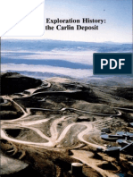 Carlin Trend Exploration History - Discovery of the Carlin Deposit