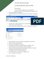 110385877 Manual de Dreamweaver CS3 Con Php