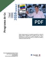 Programa de Gobierno de Celestino Pinto