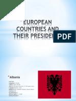 European Countries and Their Presidents