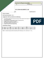 Ec 3 Java Programming Lab