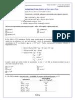 Questões de Química (soluções na descrição)