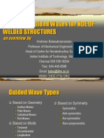 (2) Guided Wave and Welding