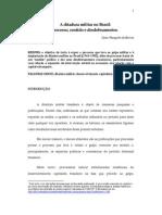 Cezar Mangolin de Barros Ditadura Militar No Brasil