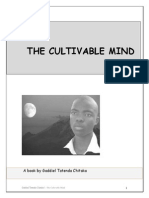 The CULTIVABLE MIND-By Gaddiel Tatenda Chitaka REVIVED -(Online Publishing)Distribution Copy