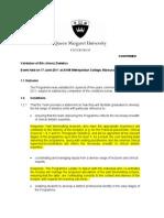 Summary Report Dietetics_draft Responses_110714