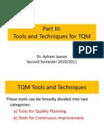 TQM Tools