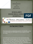 Presentation on Hospital Services 03