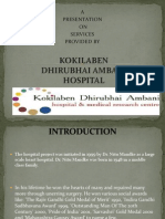 Presentation on Hospital Services 03