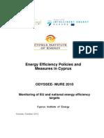 Energy Efficiency Policies and Measures in Cyprus