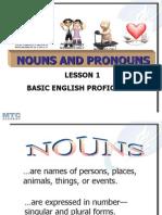 1 Nouns and Pronouns