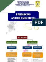 Farmacos Antihelminticos y Antiamibianos Julio 2013