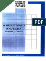 El Edificio Escolar en Venezuela - Evolucion y Atencion