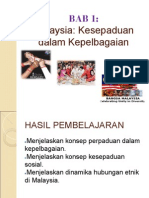 BAB 1 Malaysia Dalam Kepelbagaian.ppt