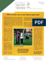 Boletín informativo septiembre 2013 del Centro Académico Romano Fundación CARF