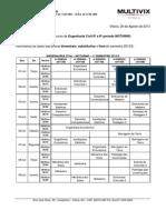 Oficio 155 - Provas - Engenhariia Civil - Noturno - 6 e 8 Periodo - 2013-2