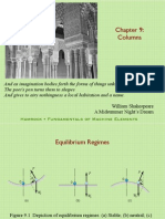 Buckling of columns
