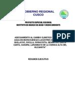 114975 Cosecha de Agua Cuenca Alta Vilcanota II