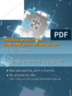 Instalação do Java no Windows Xp
