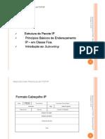 Arquitectura Protocolar TCP-IP (II)