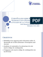 Curso Rda Itesm 2012 Pte 1