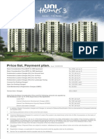 unihomes price list new