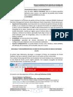 Instalacion de Oracle 11g en Windows 7