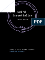 Weird Essentialism