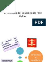 El Principio Del Equilibrio de Fritz Heider