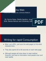 writing for the web  rhetorical principles for a diverse medium 4