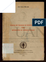 Manual Tecnicas de Investigacion Ciencias Sociales