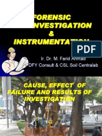 Cause Effect and Result of Investigations