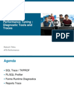 Diagnostic Tools and Traces