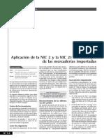 Aplicacion de La Nic 2 Y 21