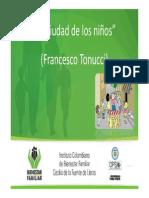Presentacion Ciudad de los Niños F-Tonucci