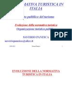 2012 La Legislazione Turistica Italia