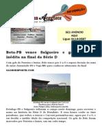 Bota-PB vence Salgueiro e garante vaga inédita na final da Série D