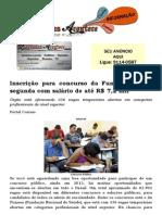 Inscrição para concurso da Funasa termina segunda com salário de até R$ 7,2 mil