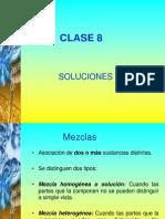 Clase 8. Soluciones